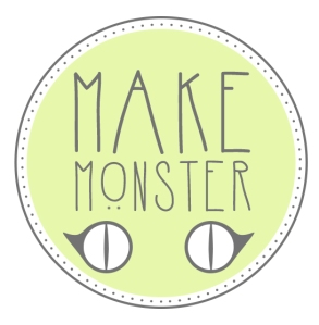 makeMonster circle logo