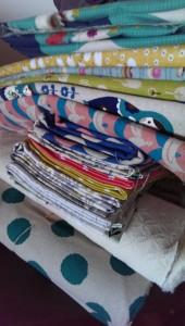 Japanese cotton fabric, Nippori Fabric Town, stash, craft room