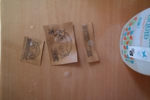 kraft-tex, washing, stamping, DIY, product labels