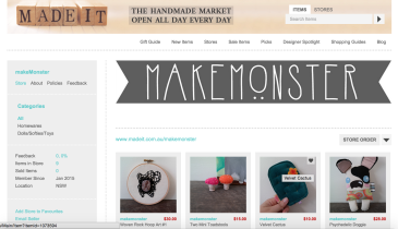 madeit, makemonster, store,