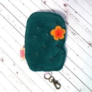 velvet, cactus, plushie, keychain