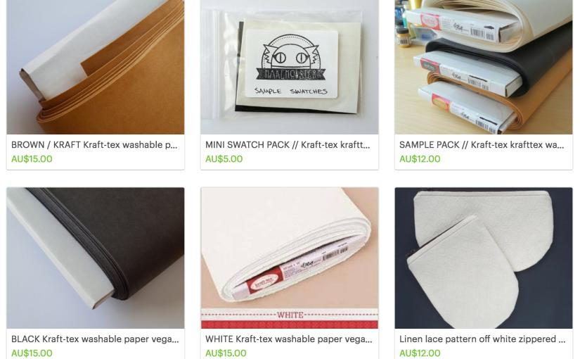 Kraft-Tex (Krafttex) Washable Paper Leather Tips &Tricks